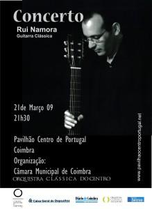 Recital em Coimbra no Pavilhão do Centro de Portugal