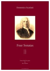 Scarlatti - 4 Sonatas cover